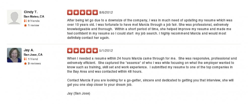 The Job Search Advisor Yelp Reviews